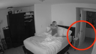 Woman Captures Paranormal Activity In Her Bedroom