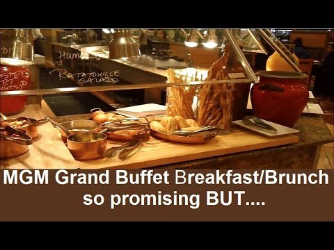 MGM GRAND Vegas Breakfast Brunch:  Promising But... Review & Prices From Top-buffet.com