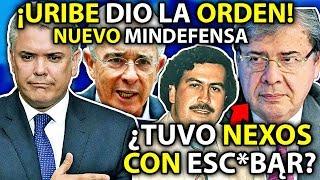 Vergüenza MUNDIAL de Duque ¡Nuevo Mindefensa tiene SERI0S CUESTl0NĄMlENT0S! *Sigue órdenes de Uribe*