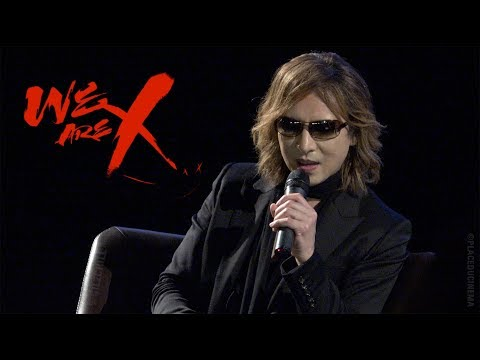 We are X - Paris premiere - Yoshiki Q&A - X Japan (UGC Les Halles, 24/10/2017)