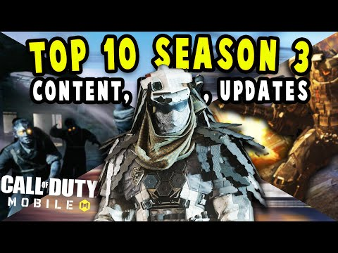 Top 10 Season 3 Cod Mobile Content, Leaks, And Changes | Season 3 Update