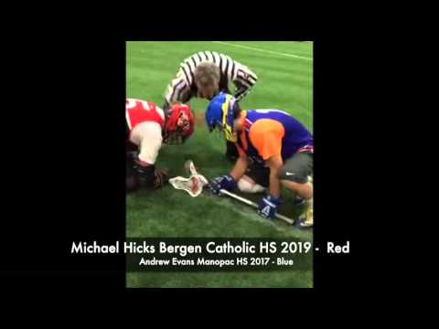Michael Hicks Class of 2019   Face-Off Academy I-95 Cup