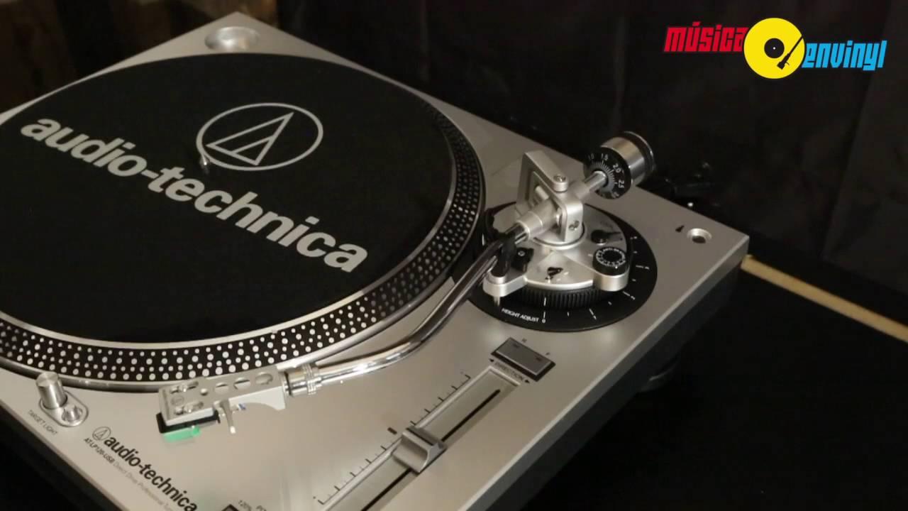 Unboxing de la Tornamesa Audio-Technica AT-LP120-USB - YouTube