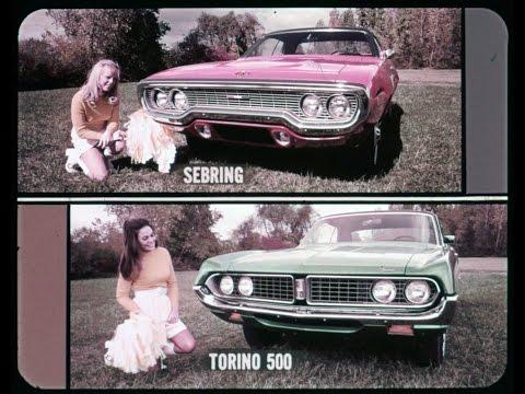 1971 Plymouth Satellite  vs Ford Torino Dealer Promo Film