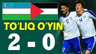 O'zbekiston vs FALASTIN JONLI EFIR | LIVE Uzbekistan vs PALESTINE прямые трансляции