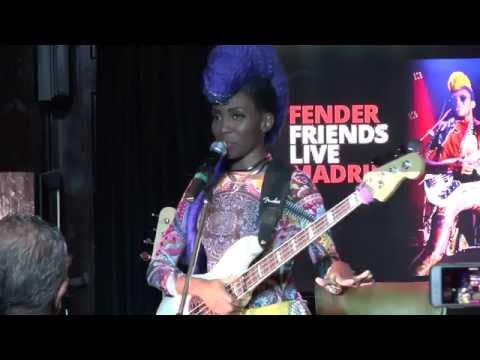Fender Friends Live Nik West, Madrid