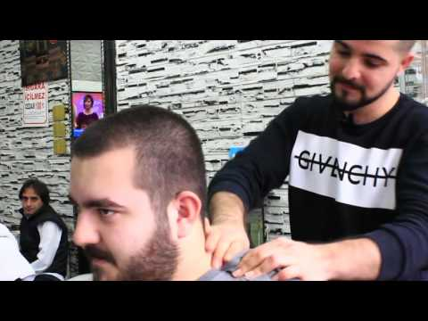 ASMR Turkish Barber Face Head and Back Massage 2