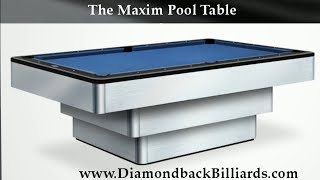 Maxim Pool Table 480-792-1115 To Own This Modern Pool Table