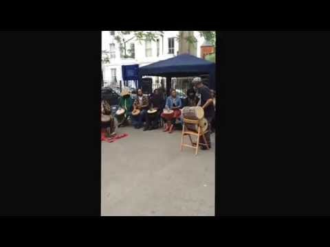 Powis Square Drummers