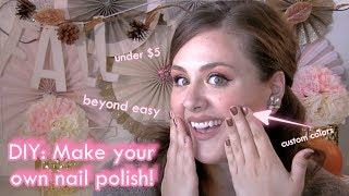 DIY: Make your own nail polish