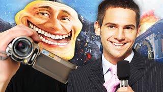 TV REPORTER TROLLING ON ADVANCED WARFARE! - (Call of Duty Troll)