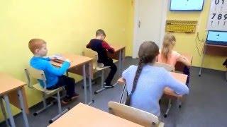 Урок в Академии ментальной арифметики Amakids г. Новосибирск
