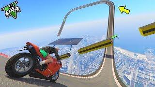 GTA 5 ONLINE 🐷 MEGA RAMPE IN MOTO !!!🐷 GARE STUNT 🐷N*174🐷 GTA 5 ITA 🐷 DAJE !!!