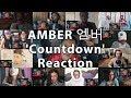 "AMBER 엠버 'Countdown (Feat. LDN Noise)' MV ""Reaction Mashup"""
