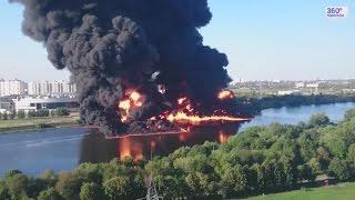 Пожар на Москве-реке. Последствия (uncut)