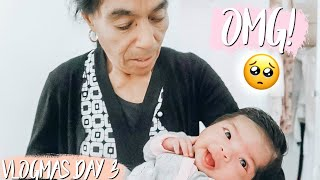 GREAT GRANDMA HOLDS BABY FOR THE FIRST TIME! *CUTEST REACTION*
