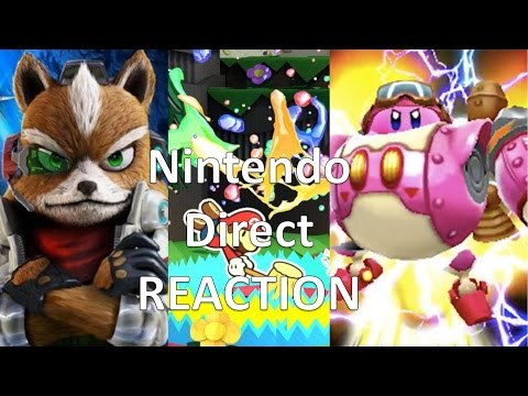 Nintendo Direct Live Reaction