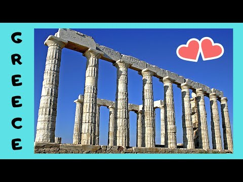 GREECE, the historic and magnificent Temple of Poseidon (CAPE SOUNION, ATTICA)