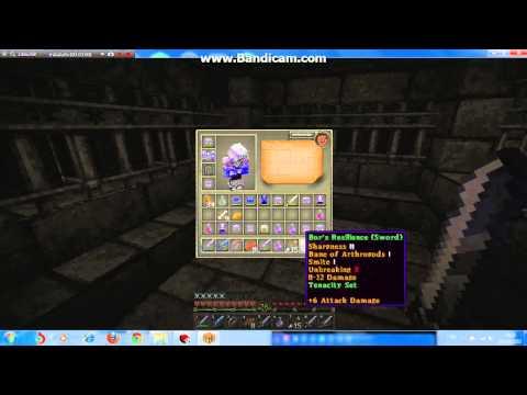 Minecraft Map Herobrine Mansion ตอนที่2 ราชาโครงกระดูก ตายอย่างเร็ว