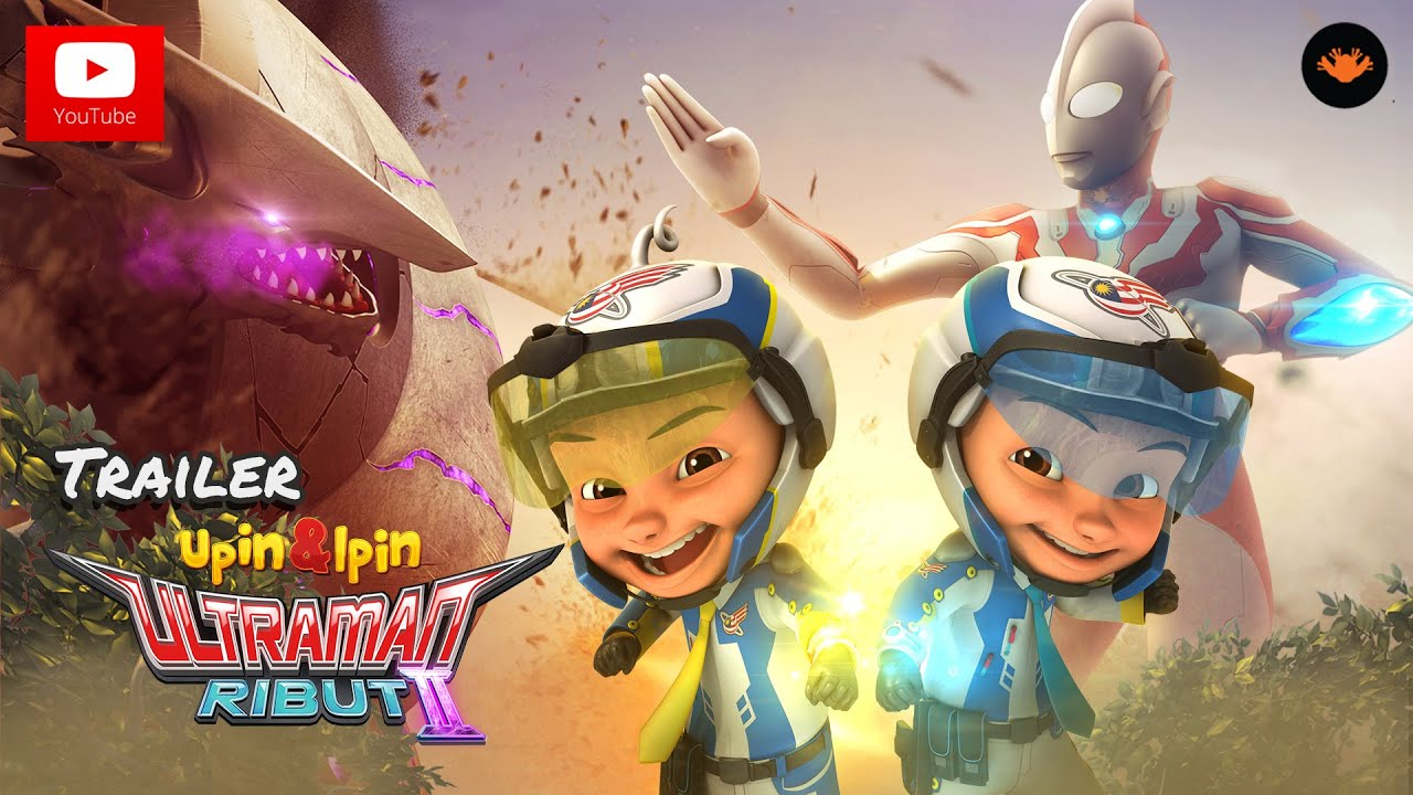 Trailer Upin  Ipin Musim 9  Ultraman Ribut II  YouTube