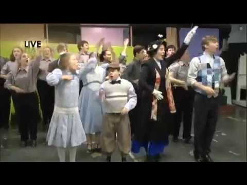 Mosley High School Drama Brings Mary Poppins to Life