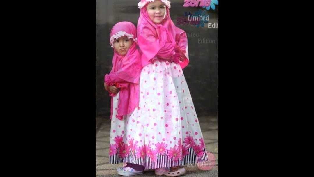 Baby Zenia Baju Muslim Anak Perempuan Model Terbaru 2014