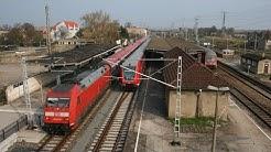 Eisenbahnkreuz im Nirgendwo: Turmbahnhof Falkenberg (Elster)