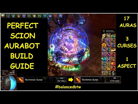 THE PERFECT SCION AURABOT BUILD GUIDE: EVERY AURA INGAME, TRIPLE CURSE, AND ONE ASPECT   Demi