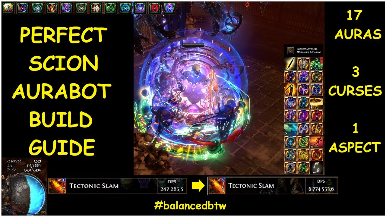 THE PERFECT SCION AURABOT BUILD GUIDE: EVERY AURA INGAME, TRIPLE CURSE, AND  ONE ASPECT | demi