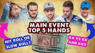 2018 WSOP Main Event Top 5 Hands | World Series of Poker screenshot 4