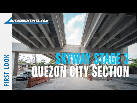 First Look: Metro Manila Skyway Stage 3 | Quezon City Section