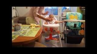 Мой новый стульчик для кормления Baby Care Basis(Мой новый стульчик простой: Не складывается, спинка не регулируется, высота тоже не регулируется. Зато нет..., 2013-12-12T16:59:22.000Z)