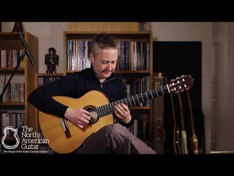 Christopher Dean Jazz Model Nylon String Acoustic Guitar Played By Stuart Ryan