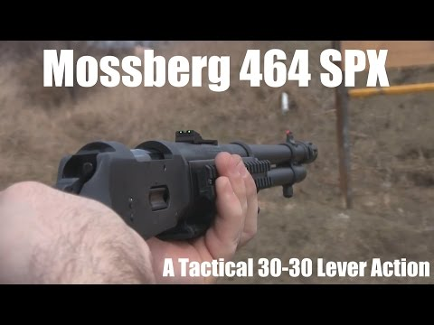 Mossberg 464 Tactical review