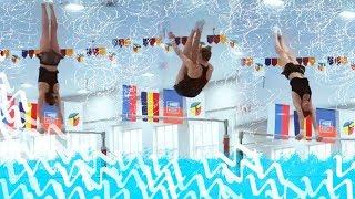 Тренировка по спортивной гимнастике / Даша в поисках груди....