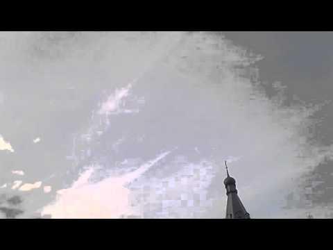 Крест в небе над Годеново 27.09.2015