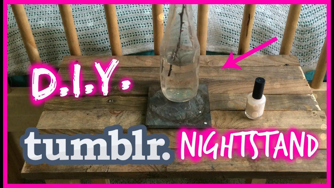Bedside table ideas tumblr - Diy Tumblr Nightstand Goodvibestv