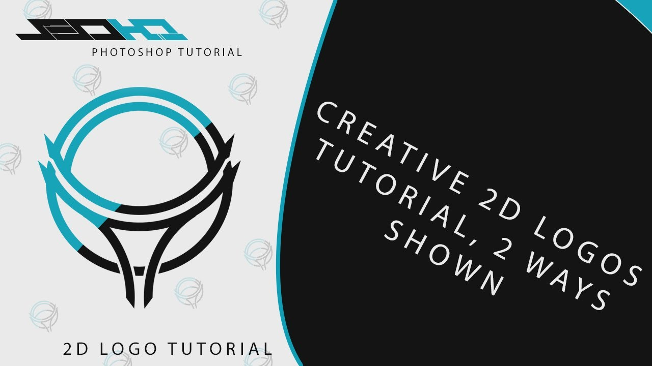 Photoshop tutorial creating your own 2d logo pentool basics photoshop tutorial creating your own 2d logo pentool basics wdifferent style youtube baditri Choice Image