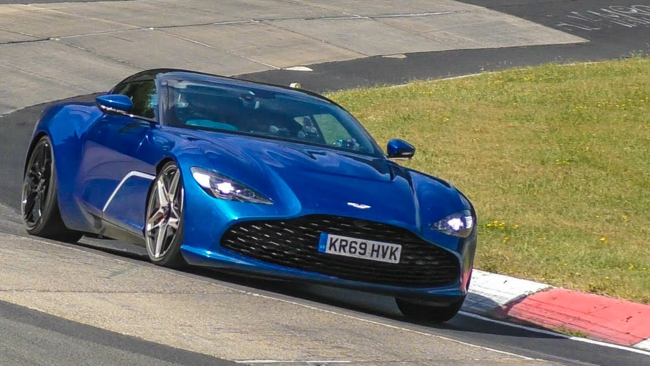 Gorgeous Aston Martin Dbs Gt Zagato Spied Beautifying The Nurburgring