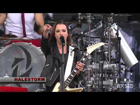 Halestorm - Rock On The Range Festival 2015 [FULL HD]