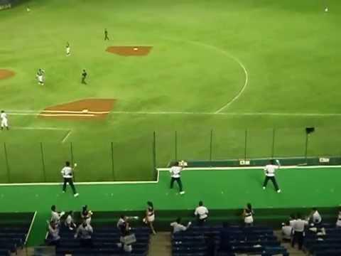 JR西日本応援:『ダッシュKO』⇒得点曲〔『天国と地獄』〕⇒『アニマル』⇒『突撃のテーマ』