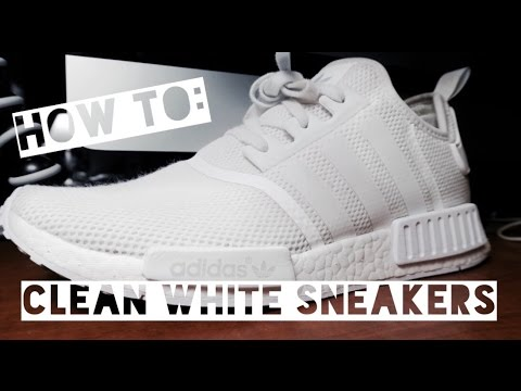 2016 VLOGUST: DAY 7 | HOW TO CLEAN WHITE ADIDAS NMD!