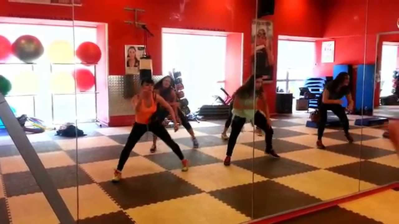 Zumba ® fitness class with Lauren- Body Work by T pain ...