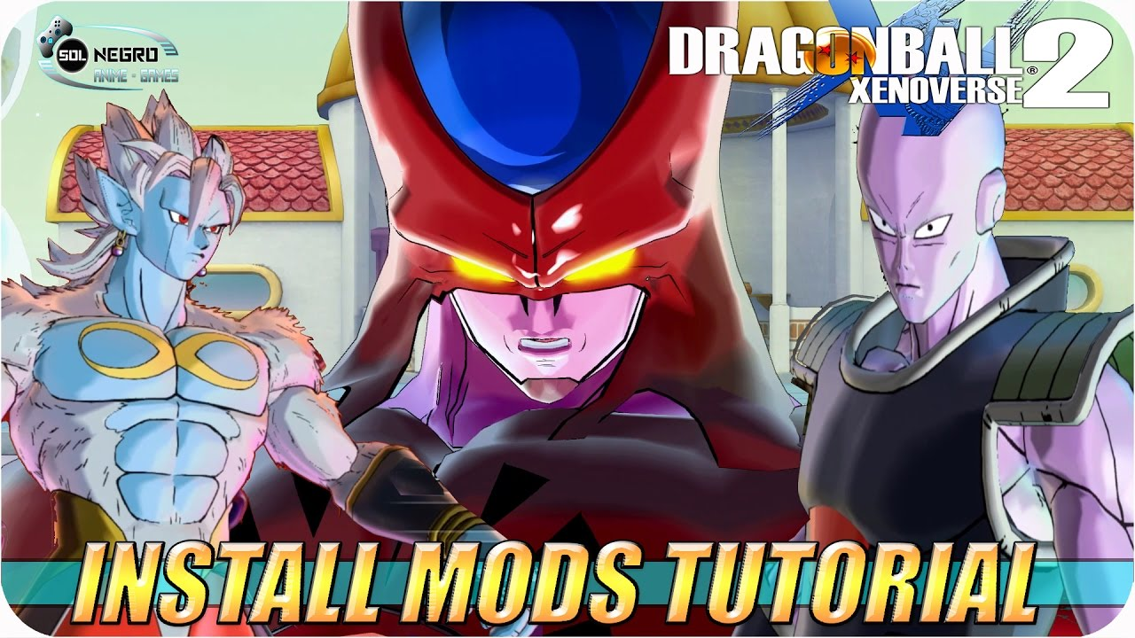 Mod Installer and Patcher TUTORIAL - Dragon Ball Xenoverse 2 English/Español