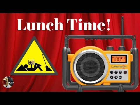 Sangean Yellow Lunchbox LB-100 Ultra Rugged AM FM Radio Review