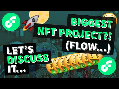 BIGGEST NFT PROJECT NO ONE IS TALKING ABOUT (FLOW…) | GET RICH WITH CRYPTOCURRENCY