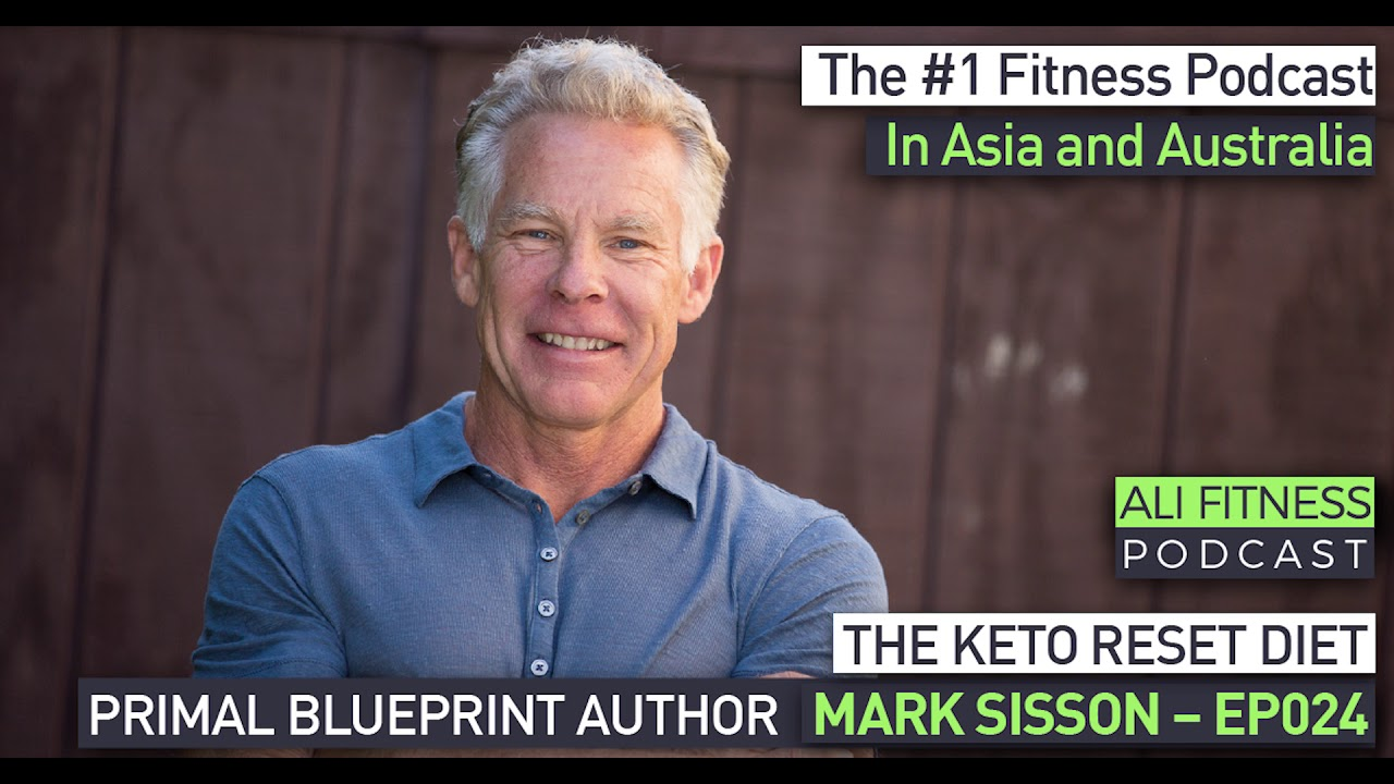 Mark Sisson Diet ali fitness podcast episode 024: primal blueprint author mark