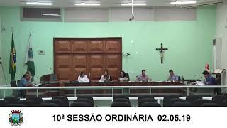 Sessão da Câmara  02.05.19