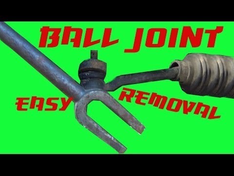 How to break a Ball joint Without a Pickle Fork