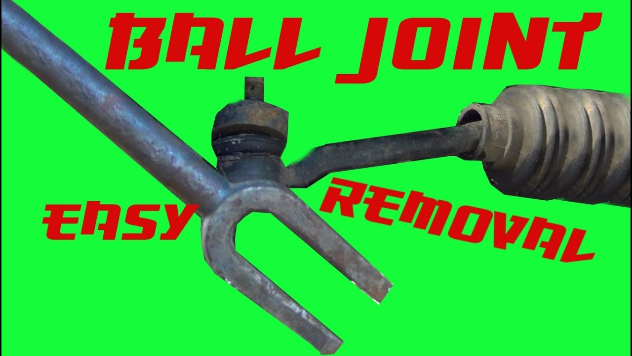 How To Break A Ball Joint Without A Pickle Fork Youtube